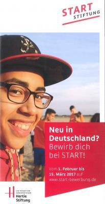 Foto zur Meldung: Stipendien für motivierte, neu zugewanderte Jugendliche