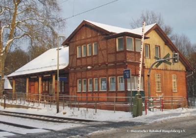 Foto zur Meldung: Bahnhof Hangelsberg im TV