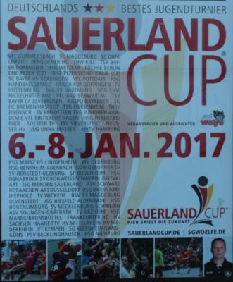 Foto zur Meldung: männl. Jugend A beim Sauerland-Cup