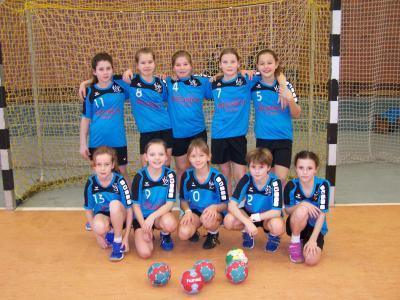 Foto zur Meldung: E1-Jugend des HSV mit zwei Siegen in Brandenburg