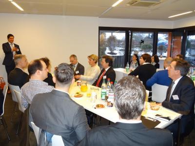 Foto zur Meldung: Erstes Nauheimer Unternehmerfrühstück