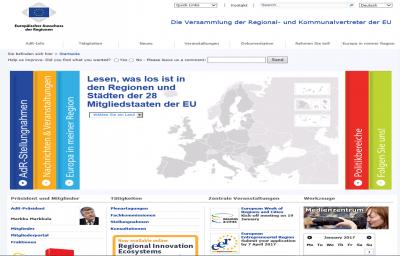 Foto zur Meldung: Plattform des Ausschusses der Regionen erleichtert Mitsprache auf EU-Ebene