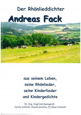 """Foto zur Meldung: neues Buch """"Der Rhönlieddichter Andreas Fack"""" erhältlich"""