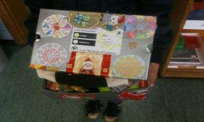 Foto zu Meldung: Weihnachtspäckchen-Aktion wieder mit großen Erfolg