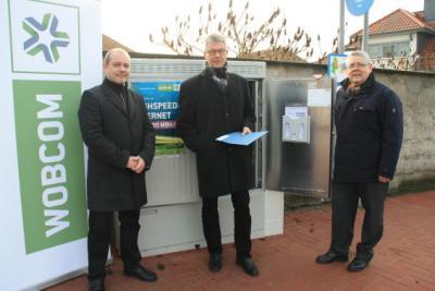 Foto zur Meldung: WOBCOM und Samtgemeinde Velpke schließen Groß Twülpstedt und Klein Twülpstedt am das schnelle Internet an