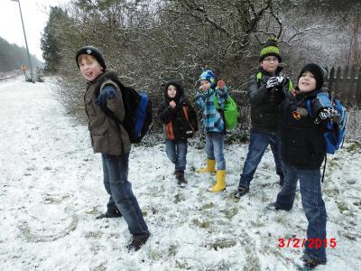 Foto zur Meldung: Groß Laasch - Erlebnisreiche Winterferien