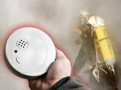 Foto zu Meldung: Bei Alarm von Rauchmeldern immer 112 anrufen!