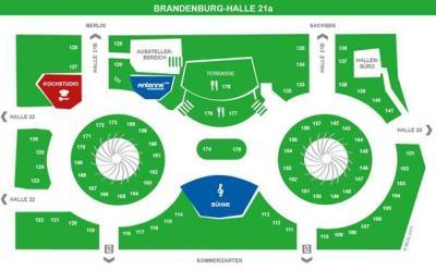 Hallenskizze Brandenburg-Halle Grüne Woche 2017