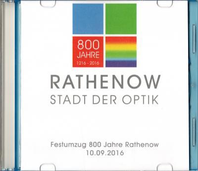 """Foto zur Meldung: CD mit Bildern vom Festumzug """"800 Jahre Rathenow"""""""