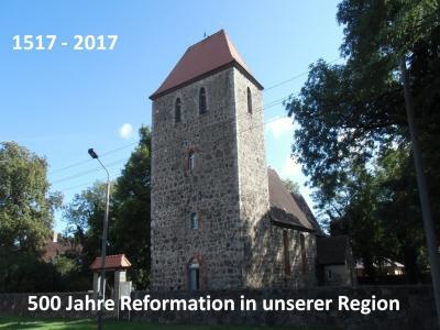 Foto zu Meldung: Vorbereitungen zur Würdigung 500 Jahre Reformation in der Gemeinde Rehfelde