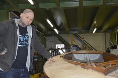 Foto zu Meldung: BootsFabrik in Schipkau