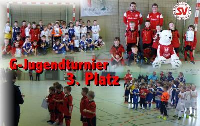 Foto zu Meldung: G-Jugend belegt 3. Platz beim Turnier in Gernrode