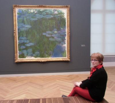 Foto zur Meldung: Heimatfreunde im Museum Barberini in Potsdam