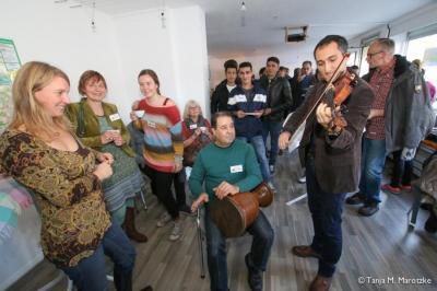 Foto zur Meldung: Regenbogencafé findet bald regelmäßig im Interkulturellen Zentrum statt