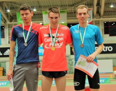 Foto zur Meldung: LAZ-Athleten gewinnen sechs Goldmedaillien bei LVN Hallenmeisterschaft
