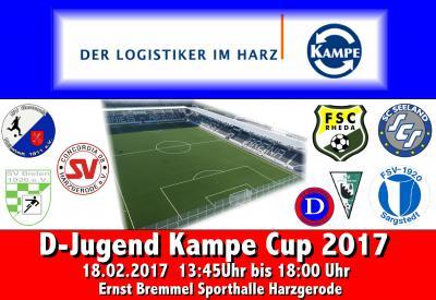 Foto zu Meldung: Concordia08 Hallencup 2017 / Kampe-Cup D-Jugend