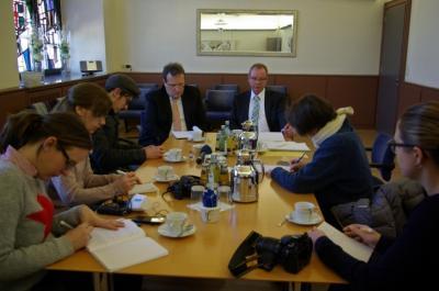 Pressegespräch in der VGV Saarburg, Foto: VGV Saarburg
