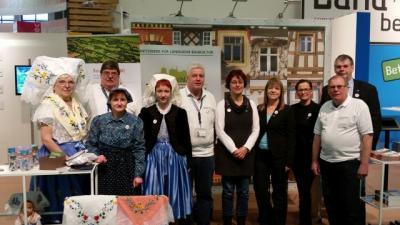 Foto zur Meldung: AG Historische Dorfkerne präsentiert sich auf der Internationalen Grünen Woche 2017 in Berlin