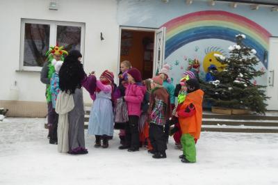 Foto zur Meldung: Zampern der Evangelischen Schraden-Grundschule