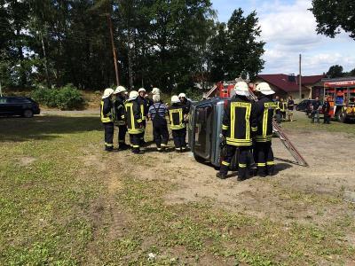 Foto zu Meldung: Ausbildungsreiches Jahr 2016 für die Feuerwehr
