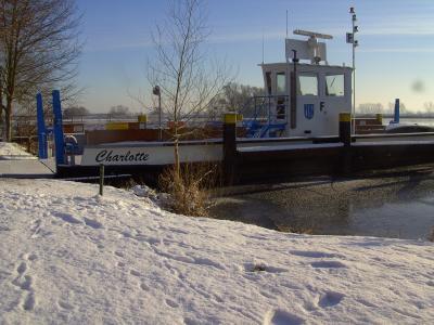 Foto zu Meldung: Ketziner Havelfähre Charlotte ab 6. Februar 2017 planmäßig außer Betrieb
