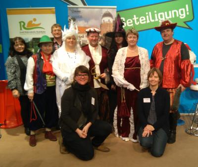 Foto zur Meldung: LAG Storchenland Prignitz auf der Grünen Woche