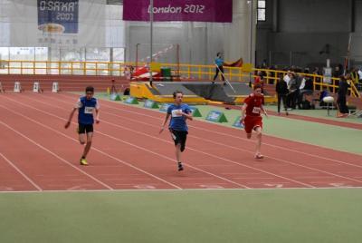 Foto zur Meldung: Ronan Behrend qualifiziert sich für LVN-Hallenmeisterschaft