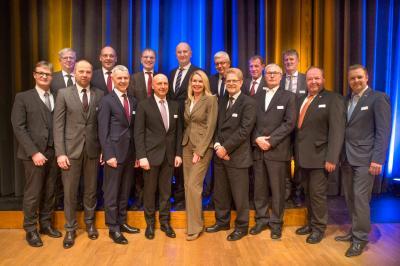 Die Präsidenten und ihre Gäste