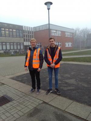 Foto zu Meldung: Schülermitaufsicht
