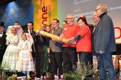 Vorschaubild zur Meldung: Internationale Grüne Woche 2017 – am Montag, dem 23. Januar 2017 - Brandenburg-Tag