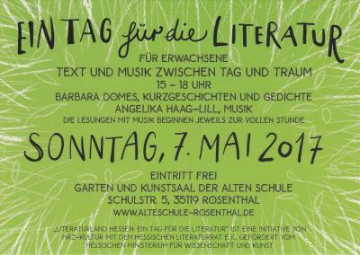 Literatur-Tag Erwachsene