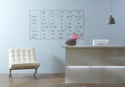 Vorschaubild zur Meldung: Magnetwand inkl. Whiteboard ohne Aufhängen einer Tafel?