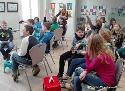 Foto zur Meldung: In der Bibliothek Wusterhausen  darf's auch mal laut werden