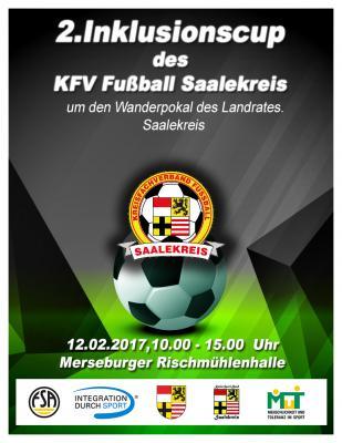 Foto zur Meldung: 2.Inklusionscup des KFV Fußball Saalekreis