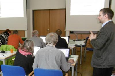 Foto zur Meldung: Notenschreiben am Computer