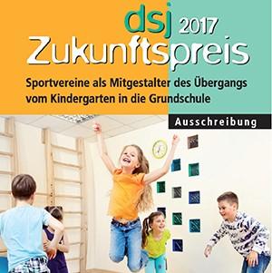Foto zur Meldung: dsj-Zukunftspreis 2017 - Bewerbungen noch möglich