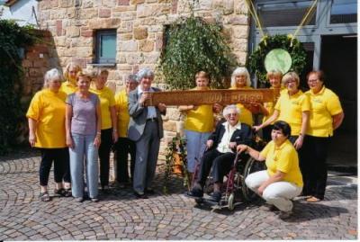 Foto zur Meldung: 100. Geburtstag Katharina Kraus