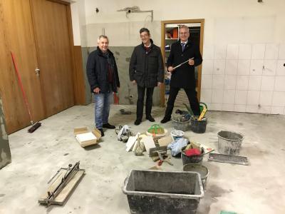 Vorschaubild zur Meldung: Gemeinschaftshaus Wittgenborn bekommt neue Kücheneinrichtung