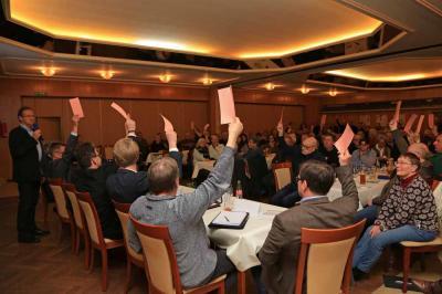 Abstimmung der Genossenschaftsmitglieder über das Projekt Bürgerwindpark