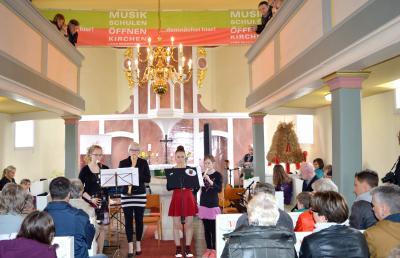 """Foto zu Meldung: """"Musikschulen öffnen Kirchen"""" 2017 dreizehnmal im Landkreis"""