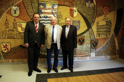 Foto zur Meldung: Ehrenbrief des Landes Hessen für Herrn Hans-Georg Jung