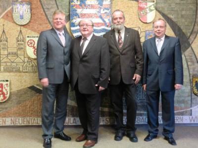 Foto zur Meldung: Verleihung Ehrenbrief des Landes Hessen