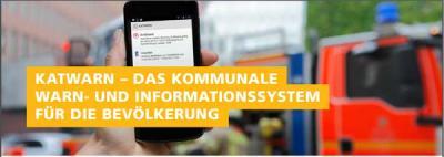 Foto zur Meldung: KATWARN: Katastrophenwarnsystem für den Schwalm-Eder-Kreis