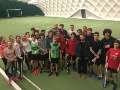 Foto zur Meldung: Hockeynight der Jugendmannschaften