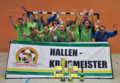 Hallenkreismeister Frauen 2017 - SV Eintracht 1990 Bad Dürrenberg