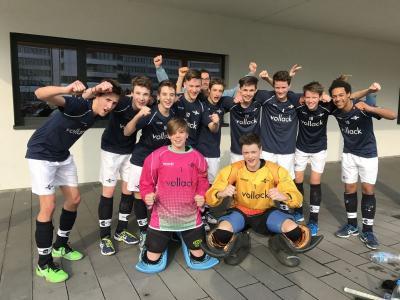 Vorschaubild zur Meldung: Männliche Jugend B erreicht Halbfinale