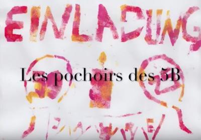 Vorschaubild zur Meldung: Pochoirs - Classe 5b