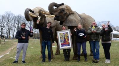 Vorschaubild zur Meldung: Wieder zu Hause: Frankello-Brüder auf dem Zirkus-Olymp