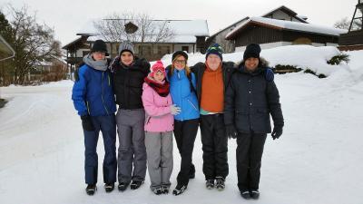 Foto zur Meldung: Skilehrgang 2017