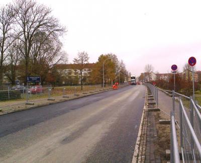 Ausbau in der Lehnitzstraße geht in Kürze weiter